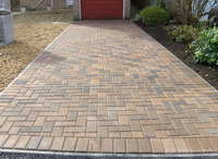 Autumn Gold Block Paving